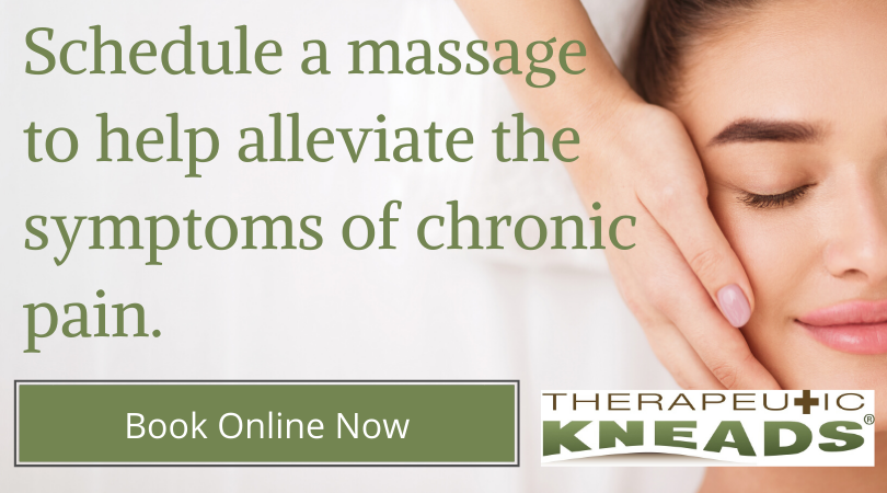 massage therapy alleviates symptoms of chronic pain